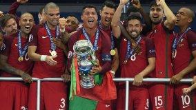 La selección de Portugal con Cristiano Ronaldo hizo historia en la Eurocopa.