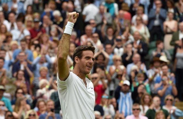 Del Potro fue más que Wawrinka en Wimbledon.
