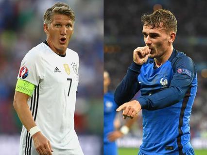 Alemanes y franceses protagonizarán mañana el partido más esperado de la Eurocopa