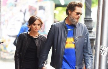 Jim Carrey y su ex pareja Cathriona White