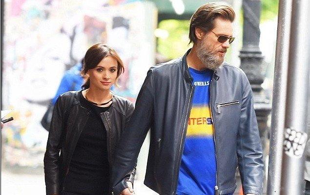 Jim Carrey y su ex pareja Cathriona White