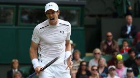Murray sigue firme en su objetivo de llegar a la final de Wimbledon.