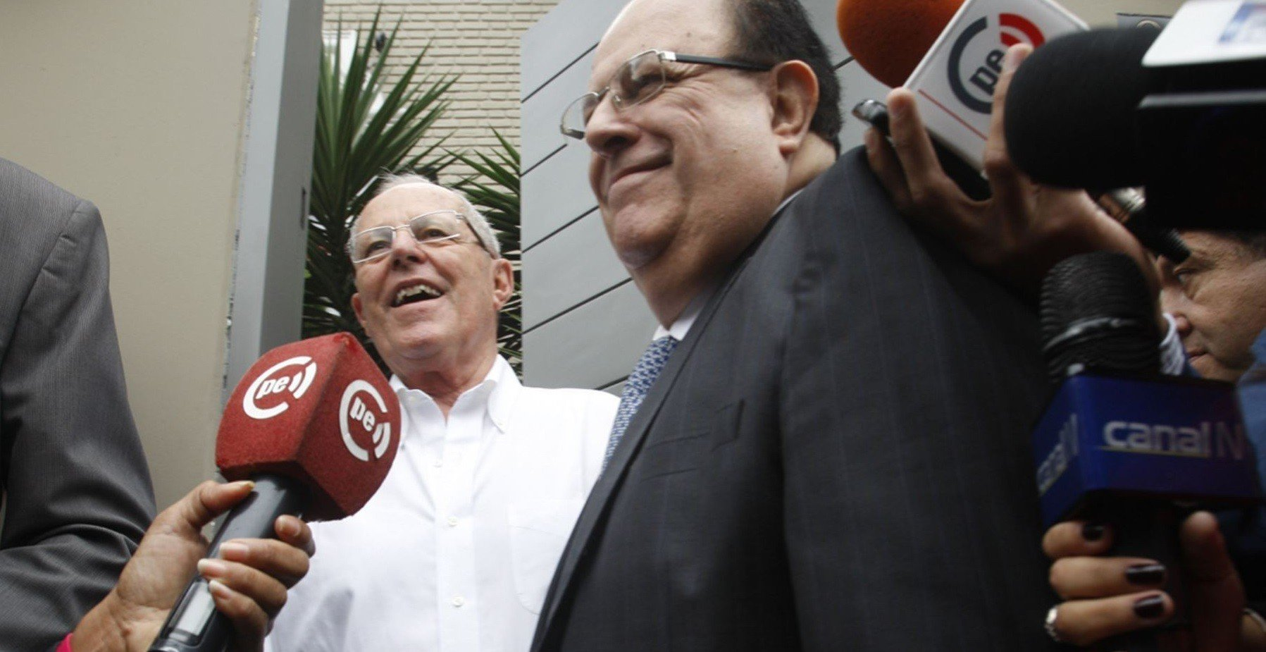 Pedro Pablo Kuczynski(PPK)recibió a Julio Velarde