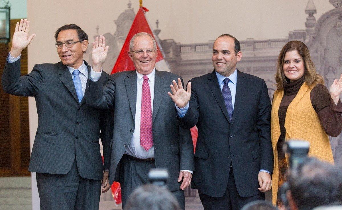 Pedro Pablo Kuczynski, Fernando Zavala y vicepresidentes de PPK