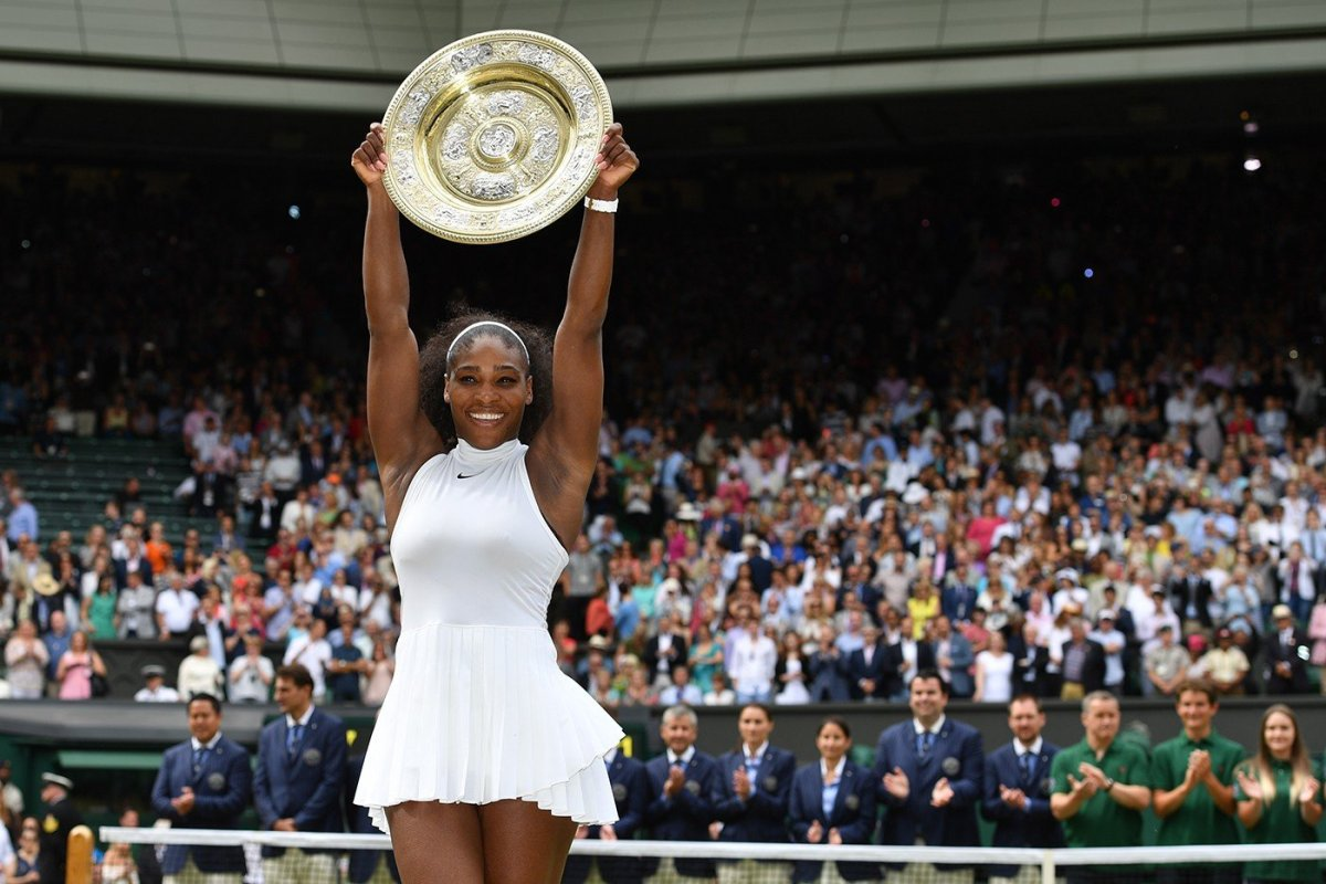 Serena Williams alcanzó su vigesimosegundo título de Grand Slam.