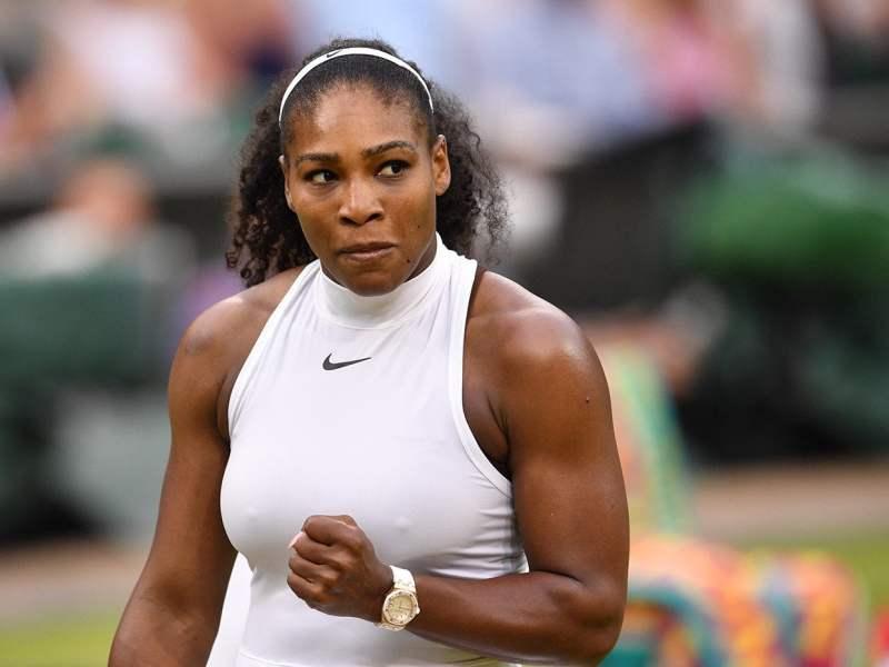 Serena Williams fue imparable contra Kuznetsova luego de la lluvia.