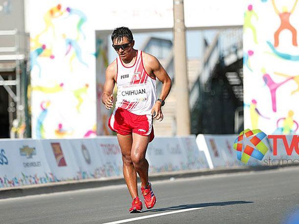 Chihuán logró terminar la marcha de 50 kilómetros en Río 2016.