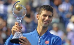 Djokovic alcanzó los 30 campeonatos en torneos de Masters 1000.