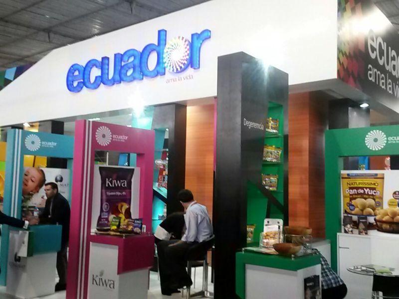 Empresarios ecuatorianos del rubro alimentos conocieron las oportunidades comerciales de la Expoalimentaria.