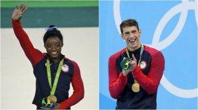 Estados Unidos la mejor delegación deportiva en Río 2016 con la gimnasta Biles y el nadador Phelps a la cabeza.
