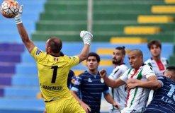 Garcilaso quedó urgido de marcar goles de visita contra Palestino si  es que quiere seguir en la Copa Sudamericana.