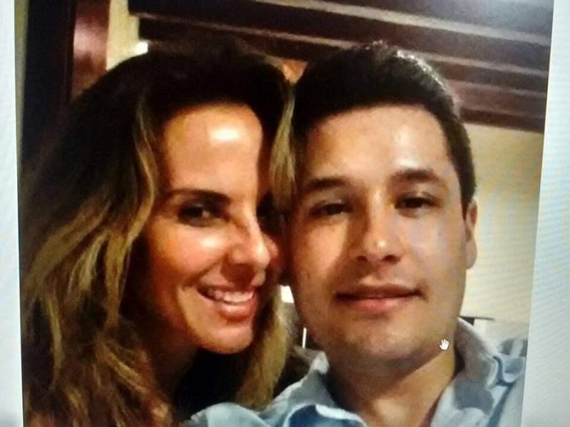 Aparece foto de Kate del Castillo con el hijo del 'Chapo' Guzmán