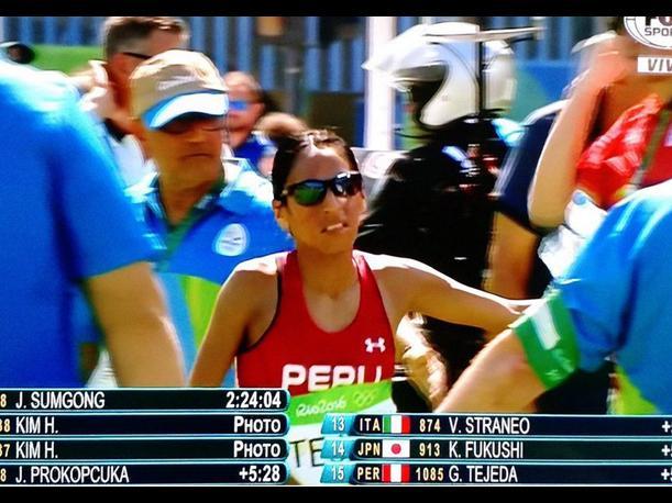 Gladys Tejeda fue la mejor atleta latinoamericana de los JJ.OO de Río 2016.