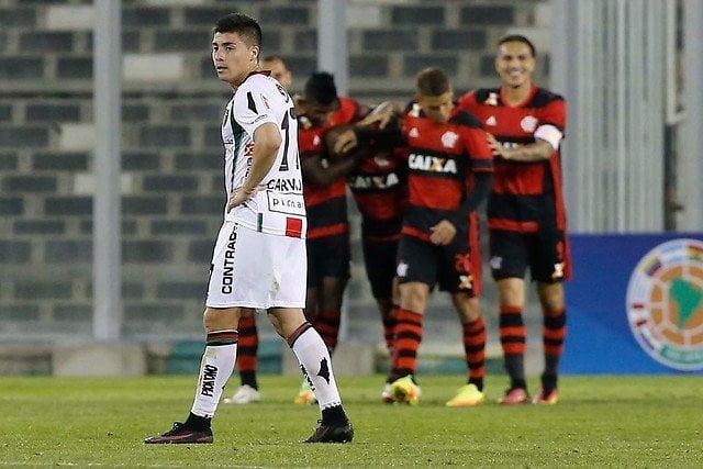 Paolo Guerrero está a un paso de alcanzar la siguiente etapa de la Copa Sudamericana con el Flamengo.