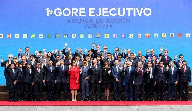 Reunión entre el Ejecutivo y los gobernadores regionales se llevarán a cabo cada dos meses confirmó el presidente Kuczynski.