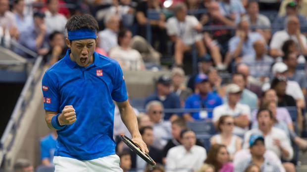 Nishikori dio el golpe en el US Open tras eliminar a Murray.