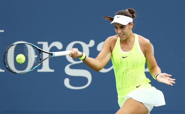La croata Konjuh sorprendió a Radwanska en el US Open.