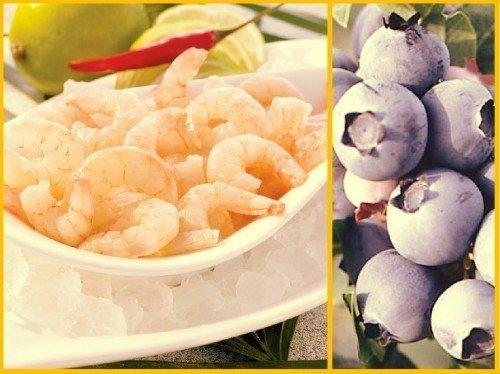 Perú exportaría por primera vez arándanos y langostinos a China.