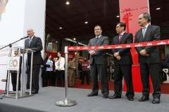 Eduardo Ferreyros en la inauguración de la Expoalimentaria 2016.