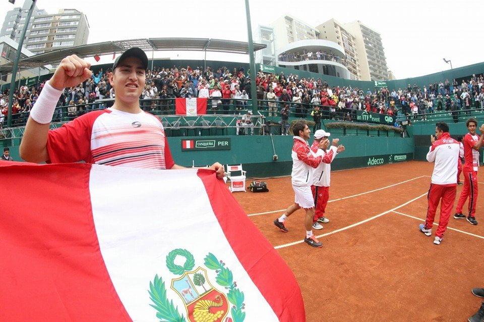 Perú ya está nuevamente en el Grupo I de la Zona Americana de la Copa Davis.