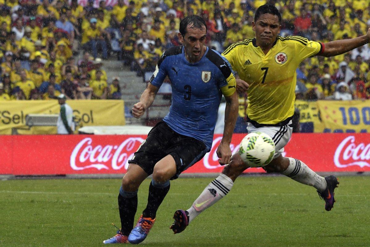 Colombianos y uruguayos no se sacaron ventaja en Barranquilla.