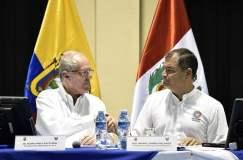 Gobiernos de Perú y Ecuador sostienen reunión en Macas para afianzar su integración.