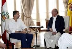 El presidente Kuczynski se reunió con el Rey de España Felipe VI.