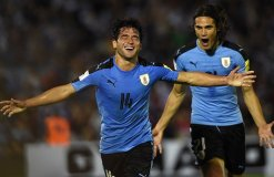 Uruguay es líder de las clasificatorias sudamericanas.