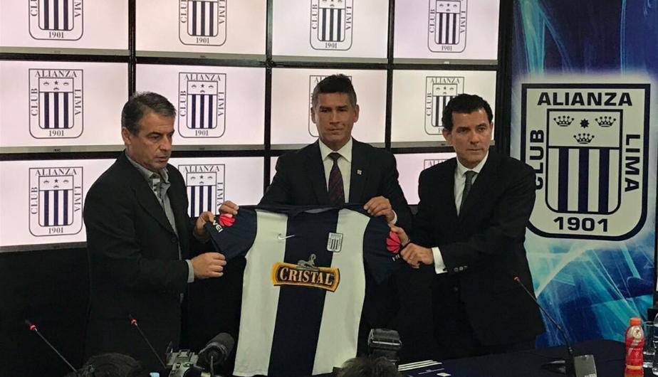 Bengoechea se hará cargo del plantel principal de Alianza Lima a partir del 1 de enero del 2017.