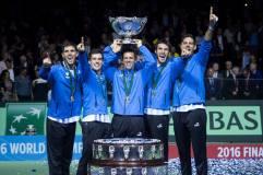 Argentina se proclamó campeón de la Copa Davis 2016.