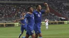 Perú no pudo con el Brasil de Tite en el Estadio Nacional.