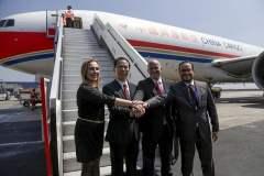 Por primera vez se exportaron alimentos peruanos vía la aerolínea China Eastern Airlines.