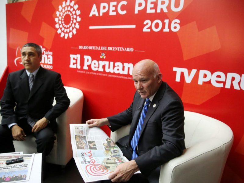 El ministro Ferreyros participó en reunión de líderes del tratado TPP.
