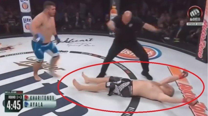 YouTube: Luchador ruso duró 16 segundos en el ring y cae por nocaut