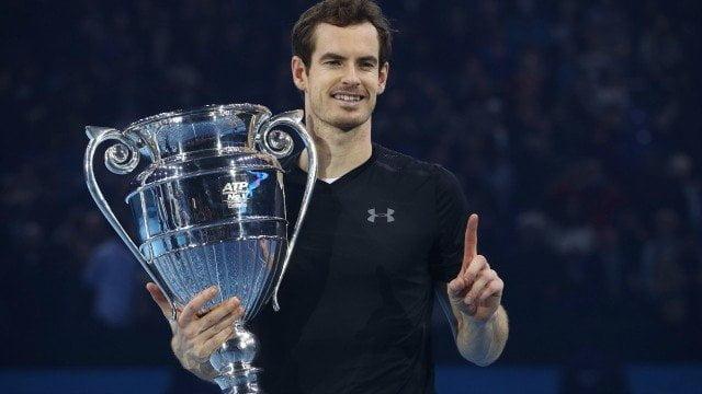 El Maestro Murray es el líder del ranking ATP.