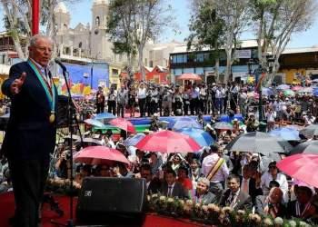 El presidente Kuczynski puntualizó en Moquegua los compromisos de su gobierno.