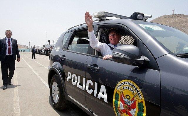 El presidente Kuczynski participó en la entrega de 610 patrulleros destinados a la seguridad ciudadana del país.