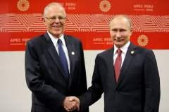 Presidente del Perú y Rusia buscarán fortalecer las buenas relaciones bilaterales entre ambos países,