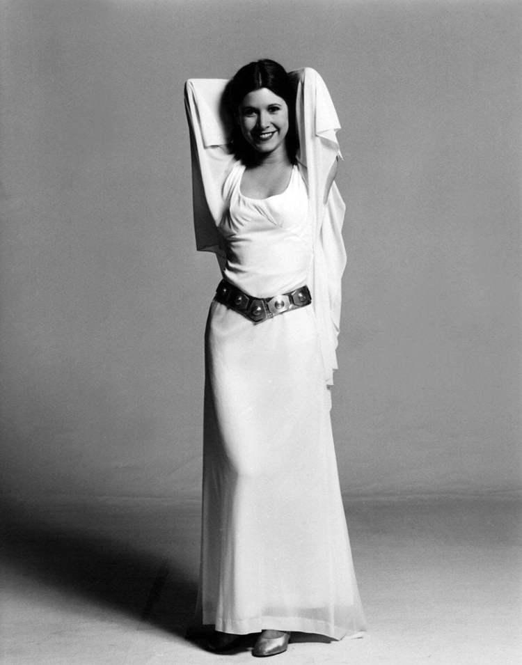 El último pedido de Carrie Fisher para su obituario