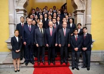 El presidente Kuczynski felicitó a la Academia Diplomática del Perú por la labor que desempeña.