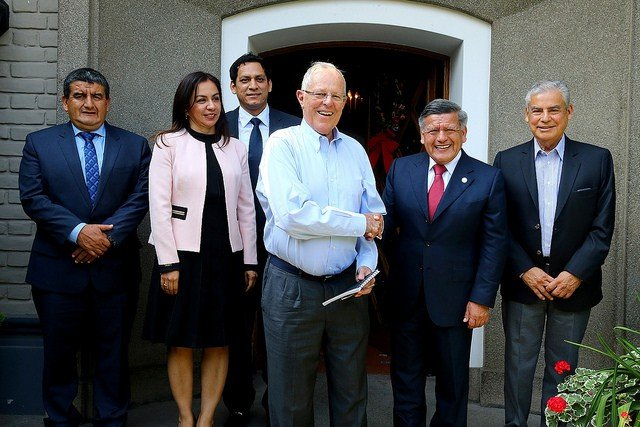 Presidente Kuczynski se reunió con dirigentes de Alianza para el Progreso