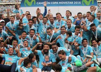 Sporting Cristal se proclamó campeón del fútbol peruano.