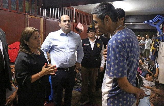 El premier Fernando Zavala supervisó el penal Castro Castro para conocer la realidad penitenciaria.