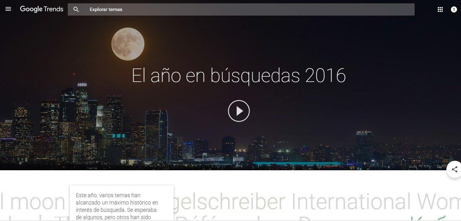 Google: esto fue lo más buscado el 2016 en el Perú y el mundo