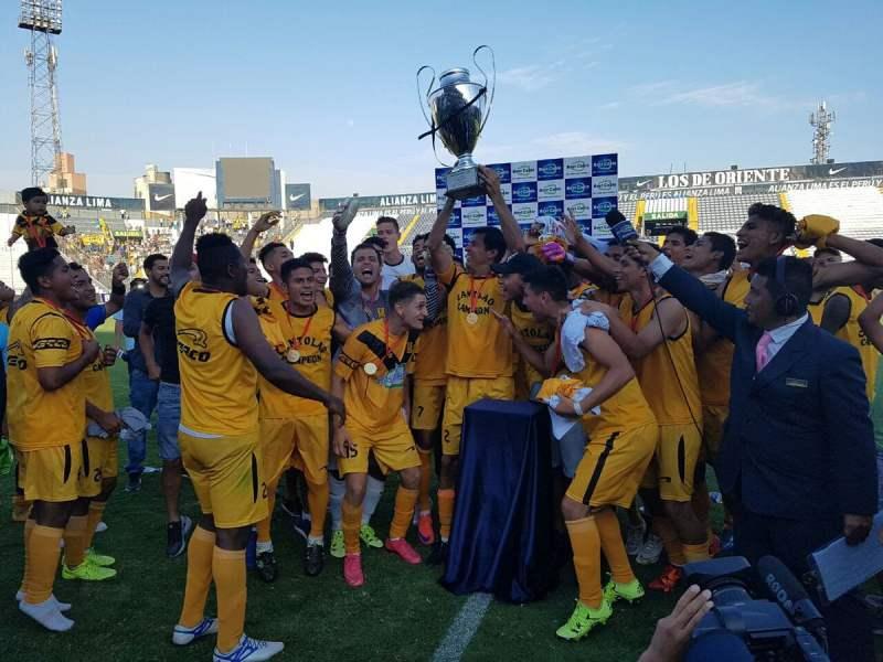 Cantolao logró un ascenso histórico a la Primera División.