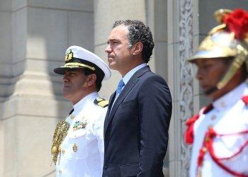 El ministro de Cultura, Salvador del Solar, participó en acto solemne por el aniversario de Lima.