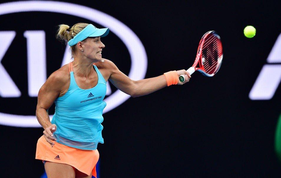 Abierto de Australia: Kerber inició con victoria en tres sets la defensa del título