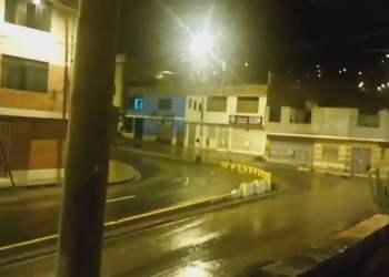 Lluvia de verano Lima 2017