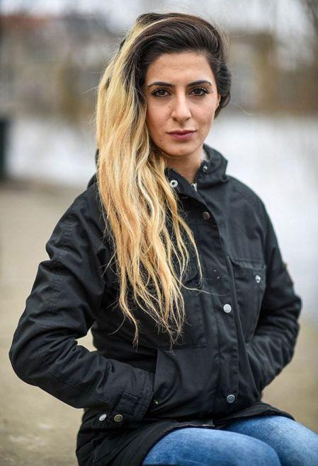 """""""Lady Muerte"""", la danesa que el Estado Islámico quiere convertir en esclava sexual"""