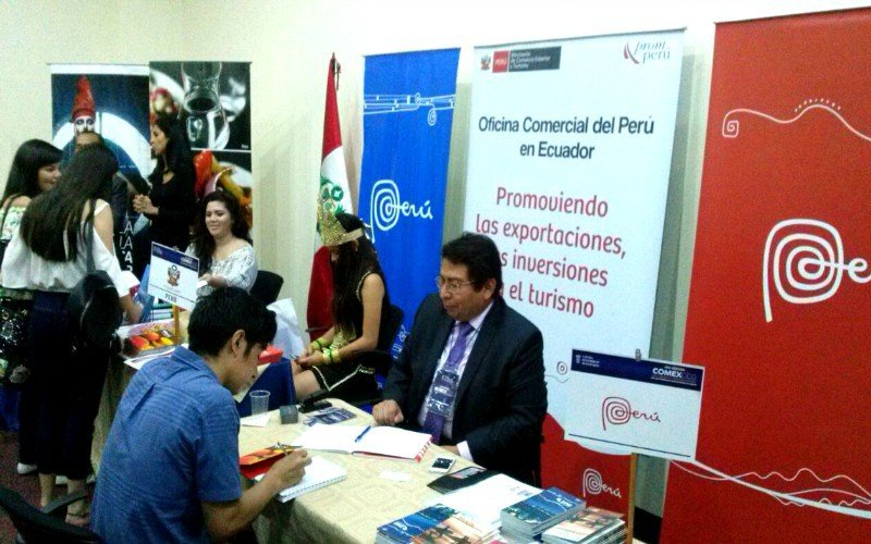 Perú participó en certamen de Comercio Exterior realizado en Guayaquil